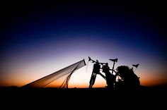 Haha, let's do it ! Bike tour around the world : Quit your Job Buy a bicycle Strap a tent to your Bike and Go  !!!