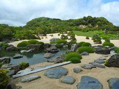The Adachi Museum of Art Gardens, Shimane Prefecture, Japan