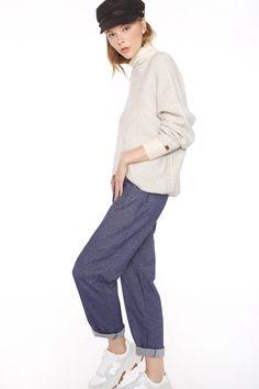 Pantalón baggy de Meisie – Mima't Boutique Boutique, Normcore, Denim, Style, Fashion, Pockets, Pants, Clothing, Swag