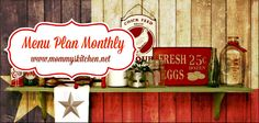 Mommy's Kitchen - Home Cooking & Family Friendly Recipes This website is updated monthly with recipes for every day of the month!