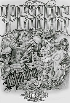 """Made font """"undefeated"""" left wrist Chicano Art Tattoos, Chicano Drawings, Chicano Lettering, Body Art Tattoos, Tattoo Drawings, Sleeve Tattoos, Art Drawings, Paisley Tattoo Design, Tattoo Perna"""