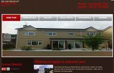 Ryebrook House b&b Killarney, Website Design Kerry, website updating Kerry Professional Web Design, Local Events, Building A Website, Create Website, Site Design, Bed And Breakfast, Digital Marketing, House Styles, Ireland