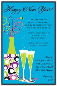 find help with your New Years party invitation wordings at