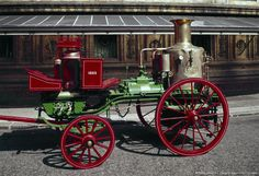 Sutherland steam fire engine, 1863.