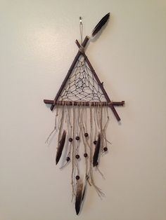Triangle Dream Catcher                                                       …