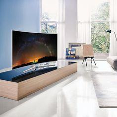 "Fancy - Samsung JS9000 SUHD 55"" Curved Smart TV"