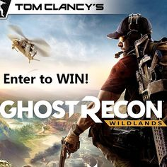 Win Ghost Recon: Wildlands for PS4 or Xbox One {US} (03/19/2017)... sweepstakes IFTTT reddit giveaways freebies contests