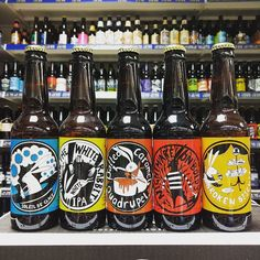 5 new beers - DIPA White IPA Salted Caramel Quad Milk Stout & A Cream Ale from @madhatterbrewing in stock now
