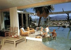The Raymond Loewy House (Albert Frey), Palm Springs Spring Architecture, Modern Architecture, Palm Springs, Mid Century Exterior, Colani, Best Architects, Sweet Home, Amazing Buildings, Mid Century House