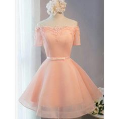 Outlet Luxurious Short Pink Homecoming Party Dresses With Mini Lace Up Bandage Dresses