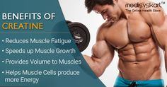 #Medisys #FitTips:- Benefits of #Creatine