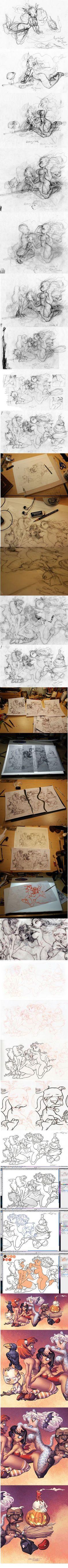 Chris Sanders sketch...