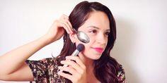 Trucos de maquillaje que puedes lograr con una cuchara