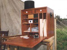 Field Officer's Desk  http://www.masterpiecewoodcrafters.net/Field-Desk.html