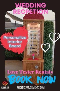 Really fun and unique Love Tester Game Rental for your wedding reception. Personalize the interior board to match bride and groom personalities! Retro Games, Space Invaders, Old Games, Donkey Kong, Marvel Vs, Wedding Receptions, Cupid, Arcade Games, Groom