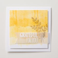 Use the watercolor swash image from the For All Things set to create a fun ombre background.