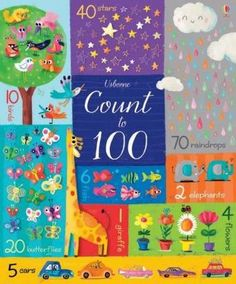 this book takes readers on a colorful whirlwind tour through the world of numbers, from one full moon to a hundred twinkling stars. There are number patterns, picture puzzles, and lots of extra things to spot along the way. Counting To 100, Counting Books, Monster H, Alphabet Pictures, Number Patterns, Math Books, Picture Puzzles, School Readiness, Teaching Kids