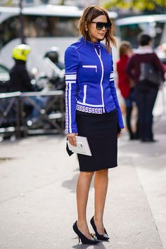 Breathe New Life Into Your Black Pencil Skirt With These Outfits via @WhoWhatWearUK