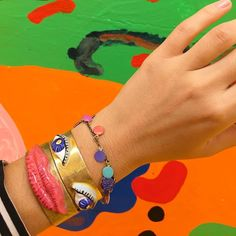 Wrist face approves of the incredible @misakikawai show at @theholenyc
