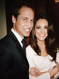 Photo of the official engagement shoot, taken by Mario Testino, 2011.
