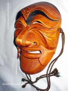 Korean Masks, Korean Hahoe Dance, Yangban