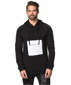 Army Of Me - Patched Logo Hooded Sweatshirt 29 Black