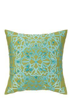 Nanette Lepore | Lace Embroidered Pillow - Aqua | Nordstrom Rack  Sponsored by Nordstrom Rack.