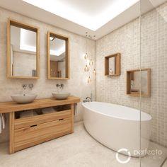 Přírodní koupelna CALYPSO - vizualizace