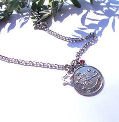 scorpio rhinestone star silver necklace – Utopically #scorpio #zodiac
