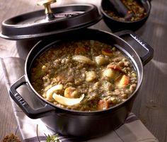 Soupe de lentilles : la recette de Julie Andrieu.