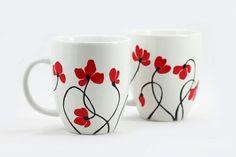 La bonita y perfecta concepción de la pintura de porcelana - Arte aburrido