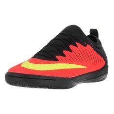 70e3dd761eb Nike Men s Mercurialx Finale II IC Total Crimson Volt Blk Pink Blast Black  Indoor Soccer Shoe