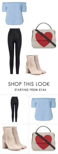 """""""Untitled #173"""" by iambeickyg on Polyvore featuring Karen Millen, 3x1, Gianvito Rossi and Kate Spade"""