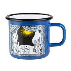 Winter in Moomin Valley enamel mug - 3.7 dl - Muurla