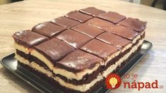 Mega chutné šálkové rezy (nielen) pre milovníkov čokolády: Keď pripravím túto maškrtu, na ostatné dezerty sa hneď zabudne!