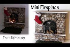 Miniature Fireplace Tutorial