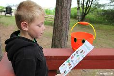 Family Nature Hunt + Free Bingo Printable