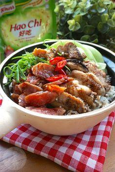 Say My Kitchen: Claypot Rice with Salted Fish 咸鱼砂锅饭