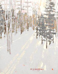 ☼ Painterly Landscape Escape ☼  landscape painting by Madeleine Hopkins