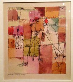 1914 Paul Klee 'Scene aus Kairouan'
