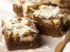 Dessert Bars, Coffee Cake, I Love Food, Banana Bread, Brownies, Cheesecake, Sweets, Baking, Desserts