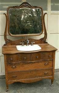 using a dresser as a bathroom vanity - Bing Images