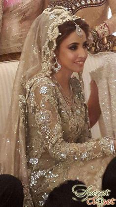 Alisha Hashmi wears Mina Hasan and Élan by Khadijah Shah at her Wedding | Bridal Trends | Secret Closet