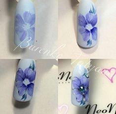 Summer Nail Designs - My Cool Nail Designs Orange Nail Designs, Flower Nail Designs, Diy Nail Designs, Flower Nail Art, Gel Nail Art, Nail Art Diy, Diy Nails, Beautiful Nail Designs, Beautiful Nail Art