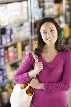 The novelty of shopping for two can lead some newlyweds to allocate too much cash to the filling their grocery carts. As you settle into married life and work on feathering your nest, look at the ways money moves in and out of your bank account. You may be surprised to find you are actually eating much of your earnings -- a grocery budget can help you get back on track.