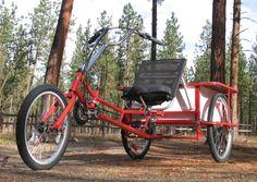 Greenway Recumbent Trike Lightfoot Recumbent Cycles