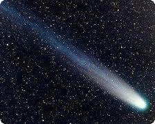 Cometas -  A passagem de um cometa representa um mau presságio, ou a iminência de uma catástrofe. O cometa é um anunciador de tragédias, como a fome, a guerra ou a morte. A aparição de um cometa representa acontecimento ou fenômenos graves, e a ocorrência de grandes infelicidades.