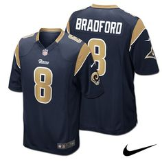 Sam Bradford St. Louis  Rams Adult NFL Nike Game Jersey. Click to order 829556a30