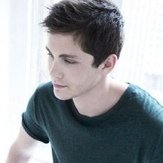 """Logan Lerman on Instagram: """"Good Morning! #photoshoot"""" ❤ liked on Polyvore featuring people"""