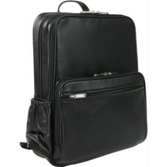 Royce Black Leather Laptop Backpack (got this! Leather Laptop Backpack, Black Leather Backpack, Online Computer Store, Best Laptops, Notebook Laptop, On Shoes, Black Shoes, Cool Things To Buy, Stuff To Buy